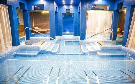 Györ: Hotel Golden Ball Club **** s neomezeným wellness se 120 m² vodní plochy