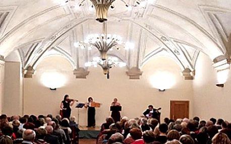 Vstupenka na velikonoční koncert s vynikajícím souborem Prague Brass Ensamble.