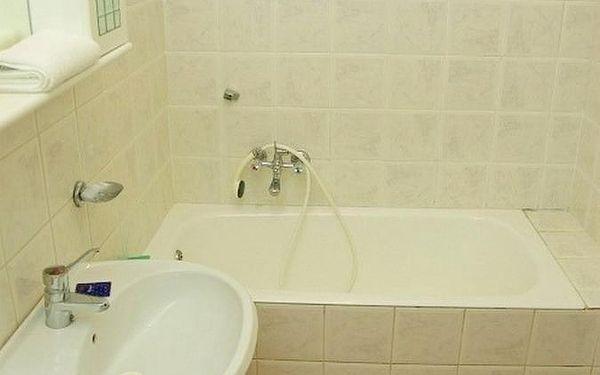 Dvoulůžkový pokoj s manželskou postelí a vlastní koupelnou4