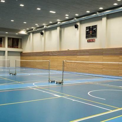 Aktivní relax pro 2: badminton a wellness