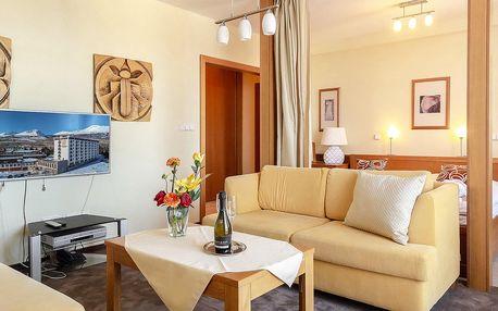 Krásné apartmány v srdci Tater s polopenzí