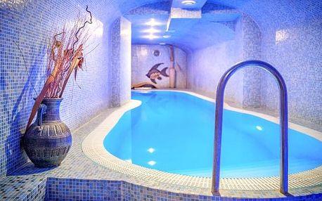 Luxusní wellness v centru Nitry + masáž