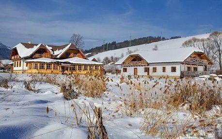 Bešeňová: penzion Gazdovský dvor s polopenzí a Region Card blízko aquaparků