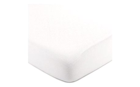 4Home jersey prostěradlo bílá, 220 x 200 cm
