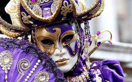 Karneval v romantických Benátkách - zájezd pro jednu osobu do Itálie na 3 dny.
