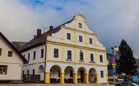 Hotel Pošta poblíž Stezky korunami stromů Krkonoše