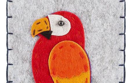 Ochranné pouzdro na mobilní telefony Papoušek filcové