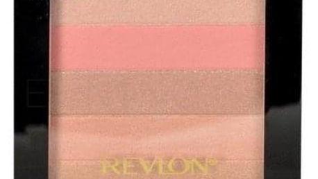 Revlon Highlighting Palette 7,5 g rozjasňující paletka pro ženy 020 Rose Glow