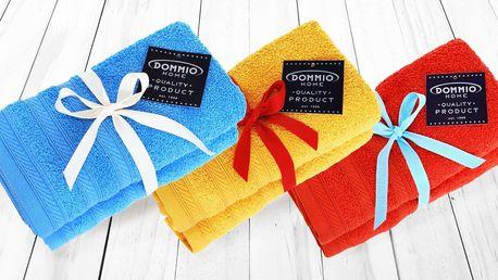 Měkoučké froté ručníky a osušky ze 100% bavlny z Portugalska