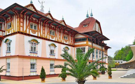 Pobyt v centru Luhačovic včetně vstupu do bazénu