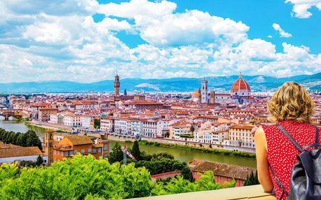 Víkendový výlet autobusem do Florencie s průvodcem