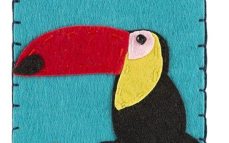 Ochranné pouzdro na mobilní telefony Tukan filcové na zip