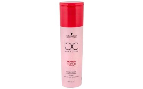 Schwarzkopf BC Bonacure Peptide Repair Rescue 200 ml kondicionér pro poškozené vlasy pro ženy