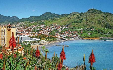Portugalsko, Madeira, letecky na 8 dní snídaně
