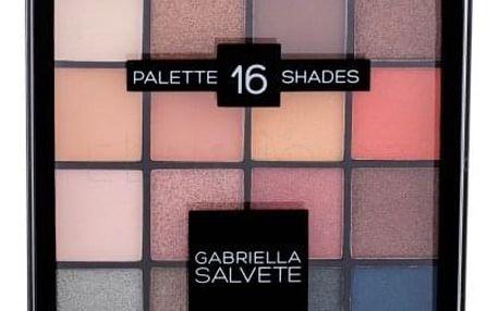 Gabriella Salvete Palette 16 Shades 20,8 g oční stín pro ženy