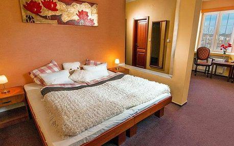 Vysočina: Žďárské vrchy v hotelu v pokojích s privátním pobytem ve vířivce, infrasaunou a polopenzí