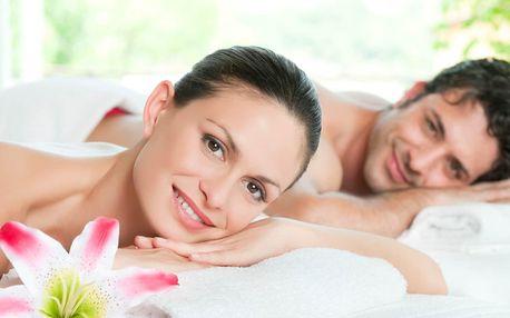 90 minut odpočinku pro pár: sekt a masáž