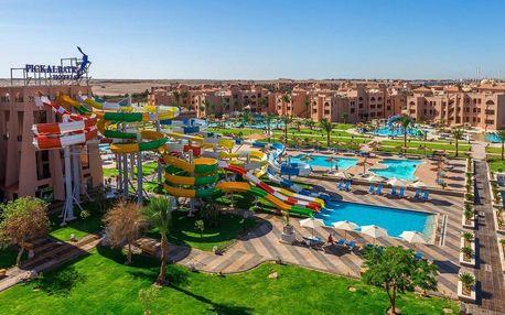 Egypt - Hurghada na 8 dní, all inclusive s dopravou letecky z Prahy, 500 m od pláže