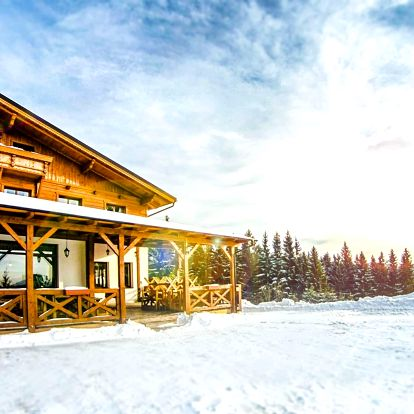 Wellness, lyže a běžkování na hřebeni Beskyd