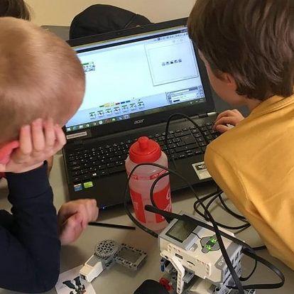 Lego robotika kroužek pro děti - začátečníci