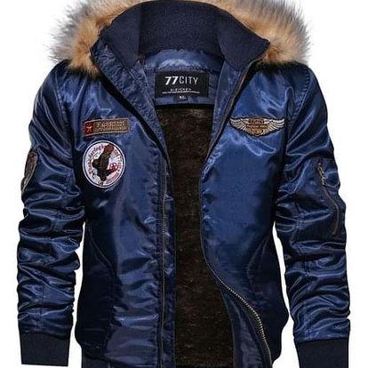 Pánská bunda Mike - Modrá-L - dodání do 2 dnů
