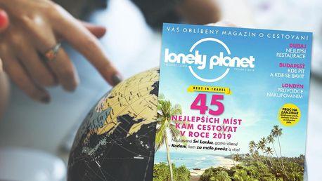Roční předplatné časopisu Lonely Planet - magazín o cestování