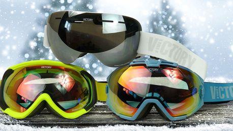 Brýle na lyže i snowboard se 100% UV filtrem