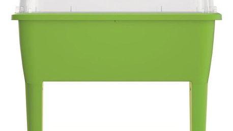PROSPERPLAST RESPANA PLANTER Set sadbovač s víkem 77 cm, limetka DREP770
