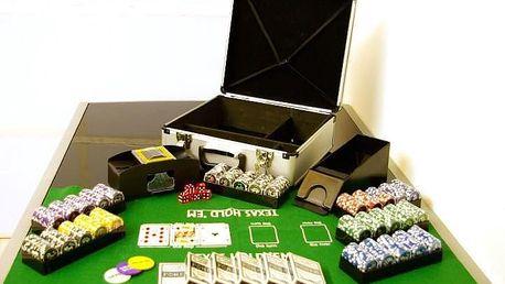 Garthen Poker set 600 ks žetonů OCEAN s příslušenstvím D01032