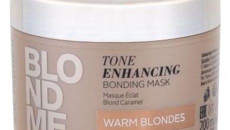Schwarzkopf Blond Me Tone Enhancing Bonding Mask 200 ml posilující maska pro teplé blond vlasy pro ženy Warm Blondes