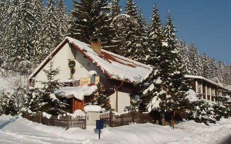Chata Barborka v Horní Bečvě s polopenzí u lyžařských areálů