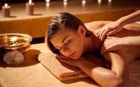 70 minutová thajská masáž dle výběru vč. masky