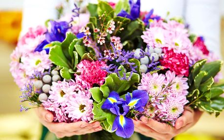 Otevřený voucher na nákup v květinářství