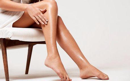 Depilace voskem: rukou, lýtek nebo celých nohou