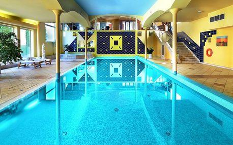 Top Hotel Praha**** s neomezeným wellness a japonskou zahradou