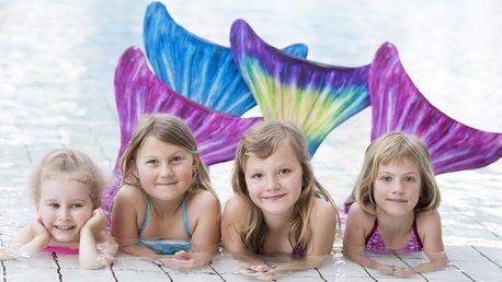 Mermaiding: Plavání v kostýmu mořské panny