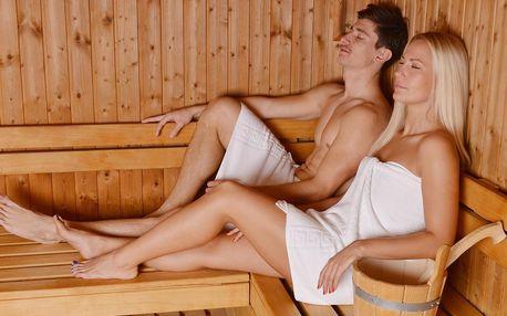 90 minut privátního wellness se saunou i vířivkou