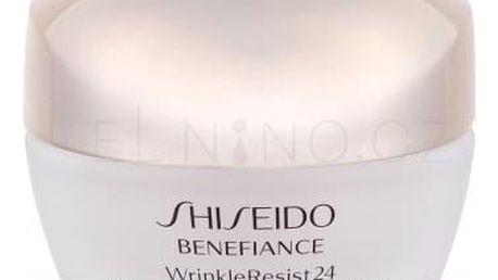Shiseido Benefiance Wrinkle Resist 24 50 ml protivráskový noční krém pro ženy