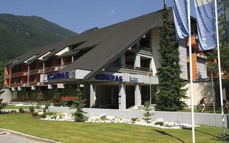 Slovinsko - Kranjska Gora na 8 dní, polopenze s dopravou vlastní