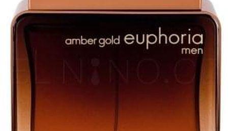 Calvin Klein Euphoria Amber Gold Men 100 ml parfémovaná voda pro muže
