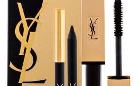 Yves Saint Laurent Mascara Vinyl Couture dárková kazeta pro ženy řasenka Mascara Vinyl Couture 6,7 ml + voděodolná tužka na oči 0,8 g No.1 No.1