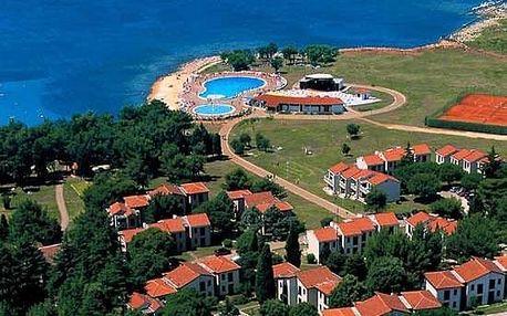 Chorvatsko - Umag na 6 až 8 dní, polopenze nebo snídaně s dopravou vlastní, 100 m od pláže