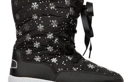Dámské černé sněhule Chloe 014
