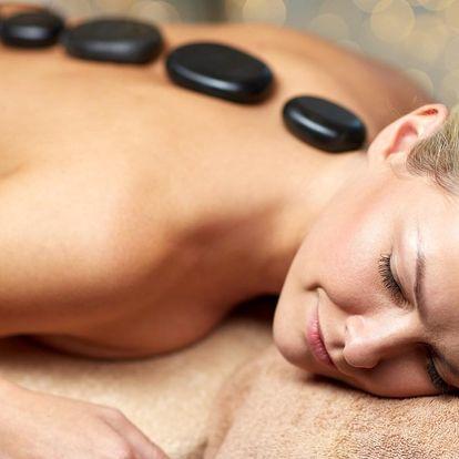 Zahřejte se: blahodárná masáž lávovými kameny