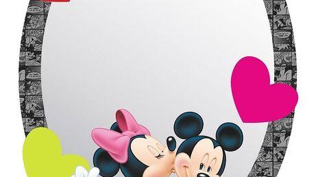 AG Art Samolepicí dětské zrcadlo Mickey & Minnie, 15 x 21,5 cm
