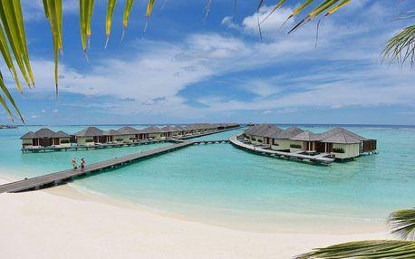 Maledivy - Severní Atol Male na 10 dní, plná penze s dopravou letecky z Prahy, přímo na pláži
