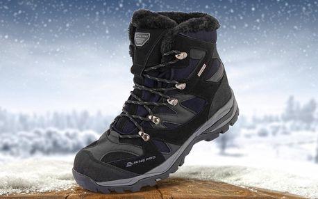 Pánské zimní pohorky Alpine Pro se zateplením