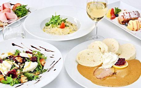 Otevřený voucher do restaurace Střelecký Ostrov