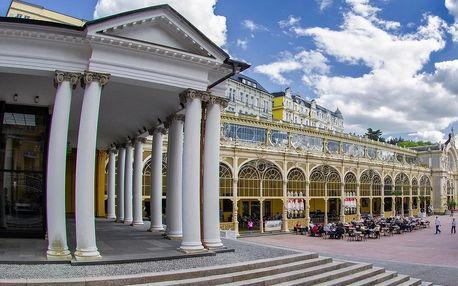 Hotel Ferdinand v Mariánských Lázních s polopenzí a wellness procedurami