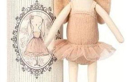 Maileg Zaječí slečna tanečnice Ballerina bunny, multi barva, textil